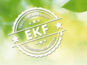 Emissionsminimierte- und konservierungsmittelfreie Farben